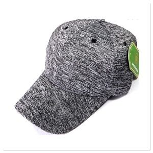 Accessories - Charcoal Heather Baseball Cap